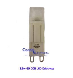 2.5w G9 COB LED Driverless