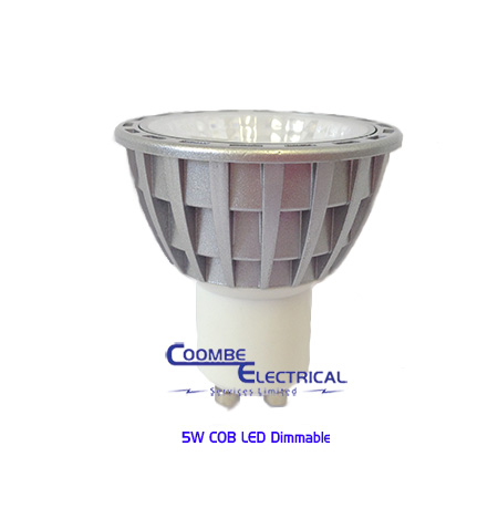 5W COB LED Dimmable Lamp