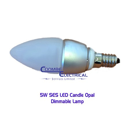 5W SES LED Candle Opal