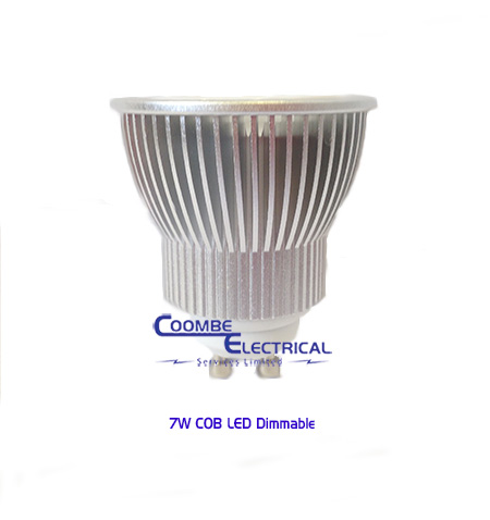 7W COB LED Dimmable Lamp