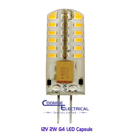 2W G4 LED Capsule