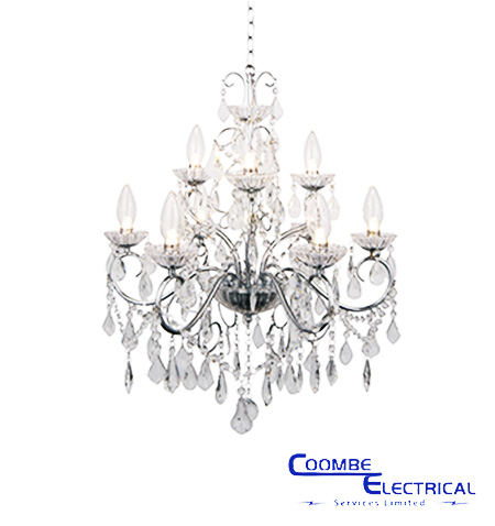 Vela 9 Light Chandelier