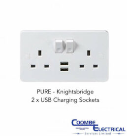 Pure USB Charging Sockets