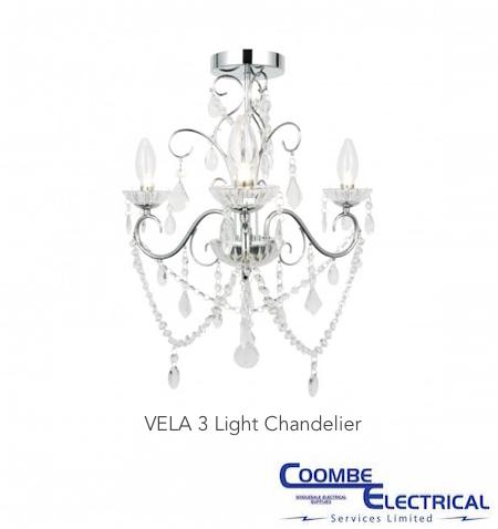 Vela Bathroom Chandelier