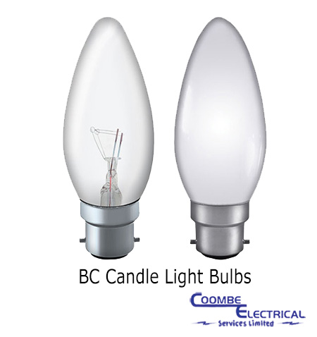 25w bc candle bulb 240v coombe electrical. Black Bedroom Furniture Sets. Home Design Ideas