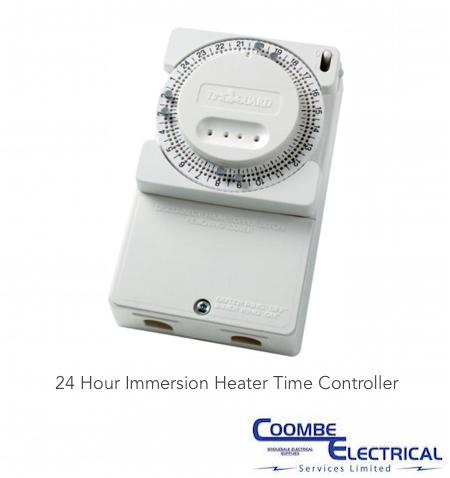 24 Hour Immersion Heater Time Controller Coombe Electrical