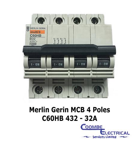 Merlin Gerin C60HB 432